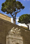 Entrance to the Vatican Museums, Rome, Italy — Stock Photo