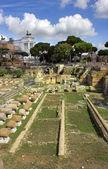 Famous ancient Roman Forum, Rome, Italy — Stock Photo