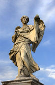 Angel blesses Rome — Stock Photo