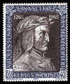 Portrait  of Dante Alighieri — Stock Photo