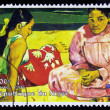 ������, ������: Painting by Paul Gauguin Tahitian Women on the Beach