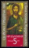 Icon of John the Baptist, village Bjala Poljana, Bulgaria — Stock Photo