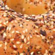 Bagel Up Close — Stock Photo