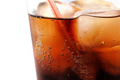 Cola on Ice — Stock Photo