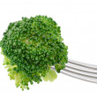 Stock Photo: Broccoli on Fork
