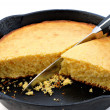 Skillet Cornbread — Stock Photo