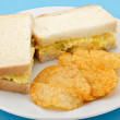 Stock Photo: Egg Salad Sandwich