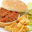 Stock Photo: Sloppy Joe