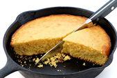 Koekepan cornbread — Stockfoto