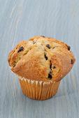 Chocolate Chip Muffin — Stock Photo