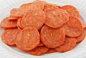Pepperoni — Stock Photo