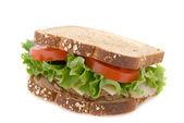 Smoked Turkey Sandwich — Stock Photo