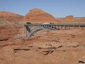 Glen Canyon Dam Bridge — 图库照片
