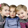 Portrait of the beautiful children — Stock Photo