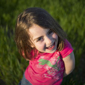Cute little girl portrait — Stock Photo