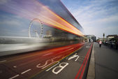 London Bus lane — Foto Stock