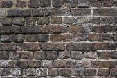 Ancien mur de briks rouge — Photo