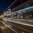 Stock Photo: Madrid night lights