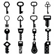 Stock Vector: Key icon