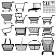 Shopping cart — Vecteur #25485709