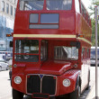 Stock Photo: London Bus Face On