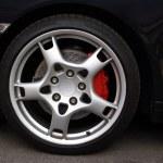 Sports Car Wheel, — Stock Photo #23472932