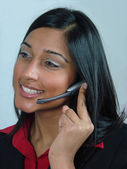Customer Service Operator — Stock Photo