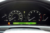 Car Speedo Display — Stock Photo