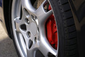 Alloy Wheel Profile — Stock Photo