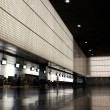 Empty airport hall. — Stock Photo