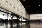 Sala pusta lotnisko. — Zdjęcie stockowe