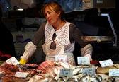 Fish seller 2 — Stock Photo