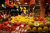 Fruit and vegetables market. — Stock Photo