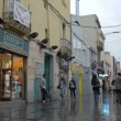 Busy street after rain. timelapse with impressionism mood. — Stock Video #13355824