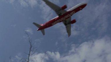 Flygplan — Stockvideo
