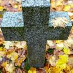 Tombstone cross — Stock Photo #16293053