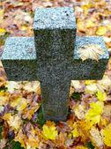 Tombstone cross — Stock Photo