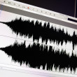 Stock Photo: Waveform.