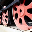 Royalty-Free Stock Photo: Old Steam Train Wheels