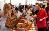 La Boqueria market. — Stock Photo