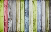 Colorful wooden background — Stock Photo
