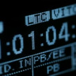 Running timecode on the vcr — Stock Video