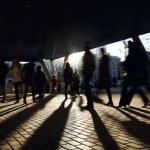 Walking near the metro station. — Stock Photo #22485693