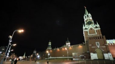 Walking in Red square in Moscow — Stock Video