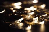 Gouden munten — Stockfoto