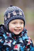 Cute happy little boy — Stock Photo
