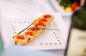 Gourmet appetizers — Stock Photo