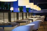 Empty modern restaurant interior — Stock Photo