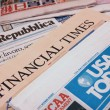Newspapers from around the world — Stock Photo #9940984