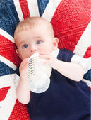 Małe dziecko — Zdjęcie stockowe